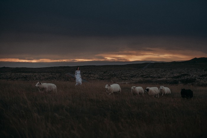 Sunset-Iceland-wedding